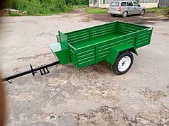 """Прицеп мотоблочный ТМ """"ШИП"""" сиденье со спинкой (200х120х40 см, под жигул. ступицу, без колес)"""
