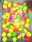 Попрыгунчик 17-10 (50шт в мешке) неон двухцветный 3,5см, фото 2