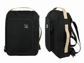 Стильный рюкзак черного цвета Dasfour
