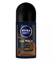 Дезодорант-антиперспирант NIVEA MEN ULTRA CARBON  Ролик   50 мл