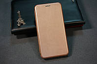 Чехол книжка для Xiaomi Redmi Note 7 Ксиоми Сяоми Ноут Ноте цвет розово-золотой ( Rose-Gold)