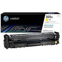 Картридж HP CF532A (205A) yellow для принтера НР Color LaserJet Pro MFP M154a, M154nw, M180nw (Евро картридж)