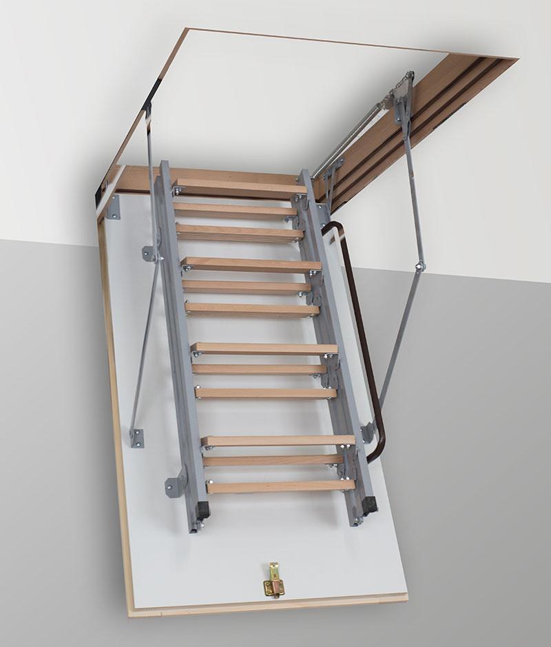 Лестница на чердак TermoPlus Met 4s ( Чердачные лестницы )