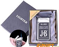 SALE!Зажигалка в подарочной упаковке JB (Острое пламя) №XT-4644-4