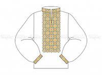 Заготовка мужской сорочки для вышивки бисером «Горицвіт»