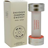 Davidoff Champion Energy туалетная вода 90 ml. (Тестер Давидофф Чемпион Энерджи), фото 1
