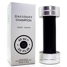 Davidoff Champion туалетна вода 90 ml. (Тестер Давідофф Чемпіон)