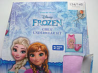 Комлект детского белья майка и трусы  для девочки  134\140 Disney Elza Frozen, фото 1