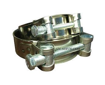 Хомут силовий з нержавіючої сталі 17-19 мм Apro w2