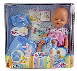 Кукла Baby Born (Беби Борн) Пупс с аксессуарами, музыкальный горшок (К148)