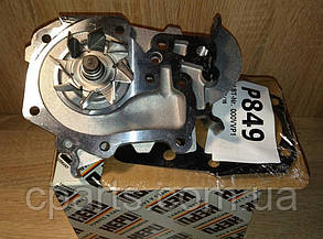 Помпа (водяной насос) Renault Sandero 1.4 - 1.6 (Hepu P849)(высокое качество)