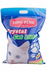 Наполнитель для туалета силикагель Кристал Crystal Cat litter 5 л/2.1 кг