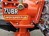 ⭐✅ Мотоблок дизельный ZUBR (Зубр) HT-135E (9 л.с.) Электростартер с воздушным охлаждением. Отправка по УКРАИНЕ, фото 4
