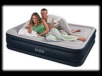 Надувная велюровая кровать Intex 67736