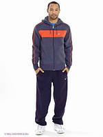 Зимний спортивный костюм , костюм на флисе Nike, темно-серый, с3397