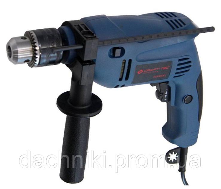 Дрель Craft-tec PXID-242 ударная Ø13 (650W)
