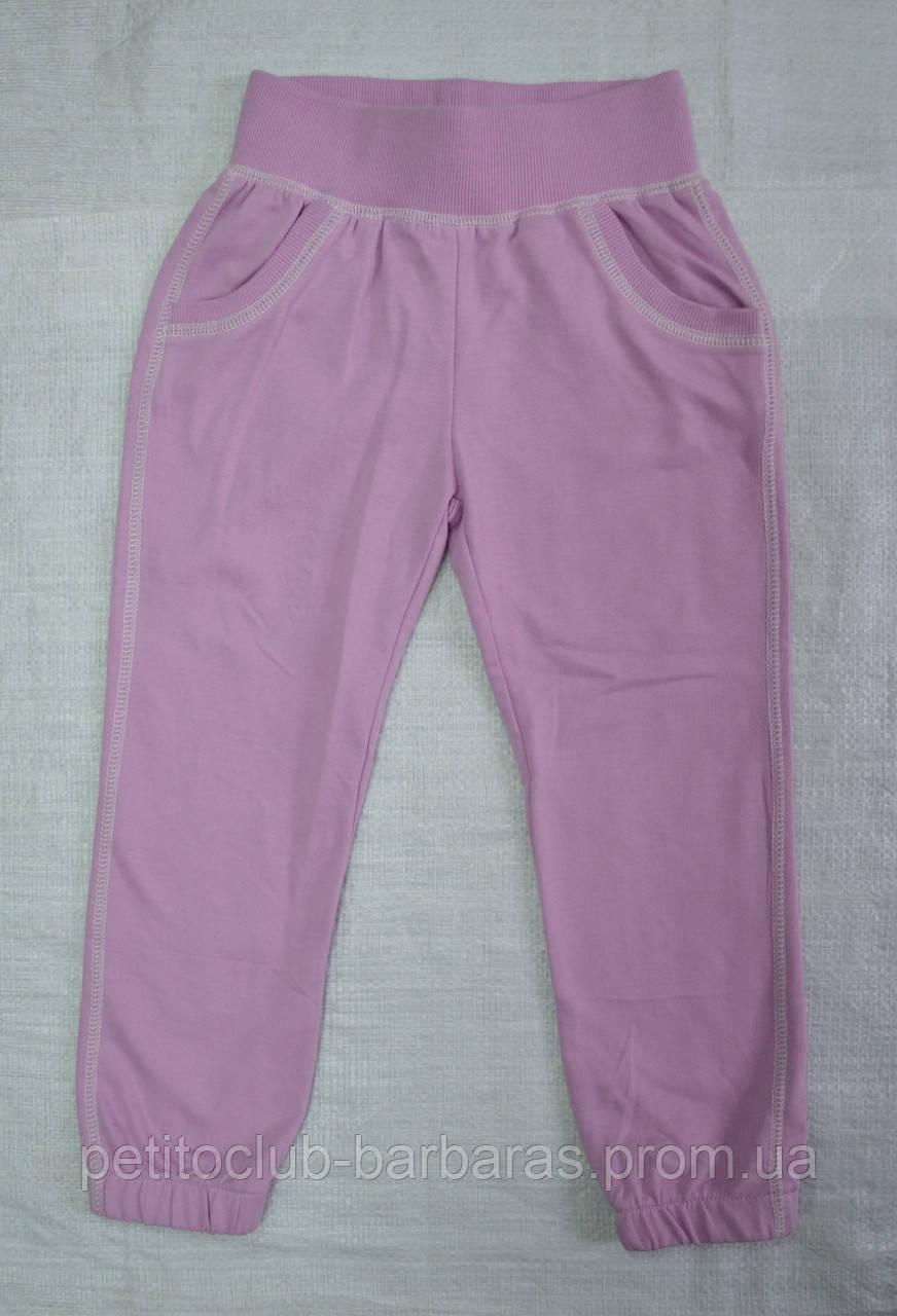 Детские спортивные штаны двунитка Glo фиолетовые р. 104 см (Glo-story, Венгрия)