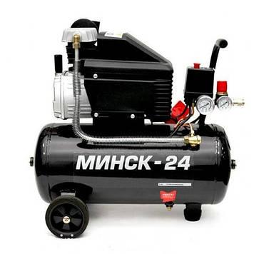 Компрессор Минск-24, 2HP, 1.5кВт, 220В, 8атм, 190 л/мин