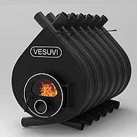 Печь Булерьян Vesuvi (Везувий) classic со стеклом Тип 04, 35 кВт, фото 1