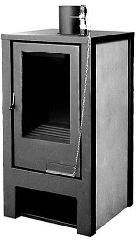 Печь-камин с водяным контуром Zar Ognik (Жар Огник) РK-18, фото 1