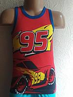 Детская майка для мальчика Disney Pixar Cars 98\104