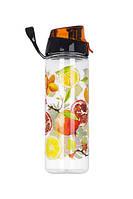 Бутылка д/воды пл. HEREVIN FRUIT 0.75 л д/ спорта (161506-024), фото 1