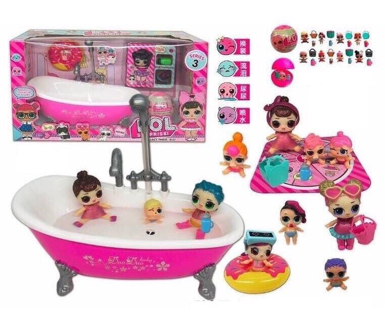 """Игровой набор """"ванная для ЛОЛ (LOL)"""" арт. 923"""