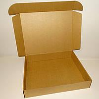 Коробка самозбираюча крафт 430х350х80, фото 1