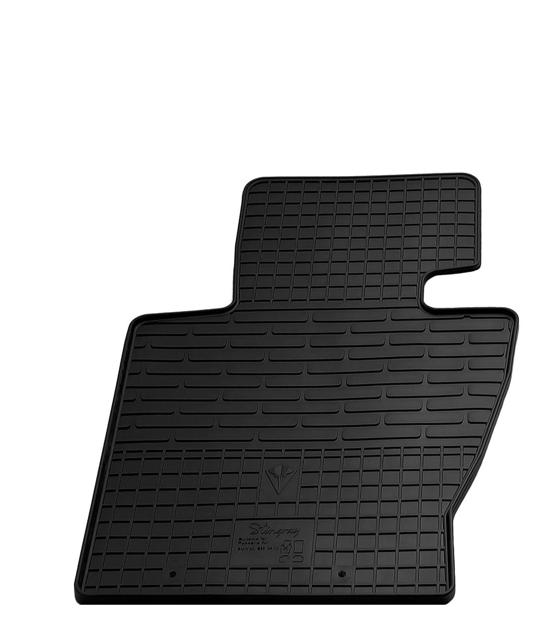 Водительский резиновый коврик для BMW X3 E83 2004-2010 Stingray