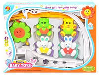 Музыкальная карусель на кроватку Baby toys 6387 АВСD