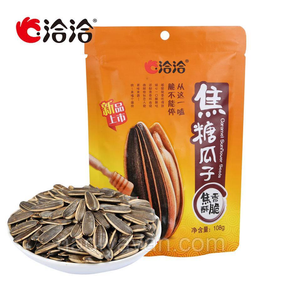 Жаренные семечки подсолнечник 108г медовый  вкус