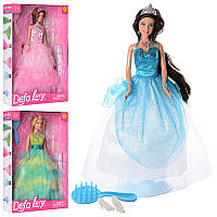 Детская кукла-принцесса Defa Lusy с аксессуарами 8275, 30 см, 3 вида