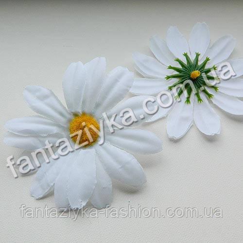 Искусственный цветок ромашки средний 75мм