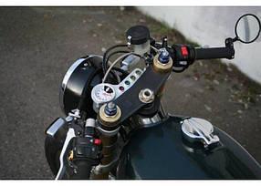 Классические мото зеркала в руль Cafe racer/scrambler/bobber
