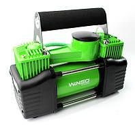 Двухпоршневой компрессор 10Атм, 360Вт, 85л/мин автомобильный для подкачки шин, WINSO (Польша)