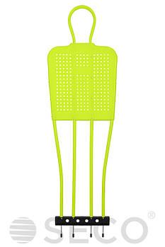 Манекен футбольный для тренировки SECO 175 см зеленый неон (18110107)