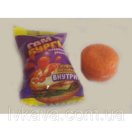Жевательная резинка Hamburger Gum  Prestige , картон, 4,5  гр х 200 шт, фото 2
