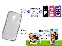 Чехол(бампер) для Samsung i9192 galaxy S4 mini с рисунком(печать на чехле)
