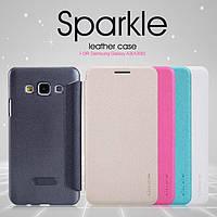 Чехол-книга для Samsung A3 A300 Nillkin Sparkle, фото 1