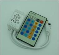 Контроллер для светодиодной ленты 6А, Smart RIR-1-CT-W-01, ИК пульт 24 кнопки