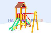 """Детская площадка, игровой комплекс """"Светлячок"""" (HappyEcoWood, Украина, GC004)"""