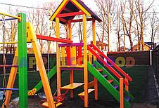 """Детская площадка, игровой комплекс """"Светлячок"""" (HappyEcoWood, Украина, GC004), фото 3"""