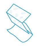 Полотенца бумажные однослойные Proserviсe Optimum, V-сложение, 160 шт., зеленые, фото 3