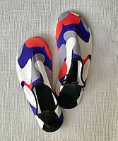 Неопреновая обувь аквашузы Skin Shoes белый камуфляж 34-44