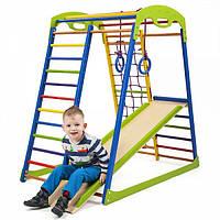 Детский спортивный комплекс для дома SportWood ( спортивний куточок )
