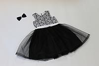 Школьное нарядное платье на девочку