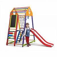 Детский спортивный комплекс BambinoWood Color Plus 3 ( спортивний куточок )