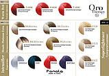 6.5 - Тёмный блондин махагоновый Безаммиачная крем-краска для волос Fanola Oro Therapy Color Keratin, фото 4