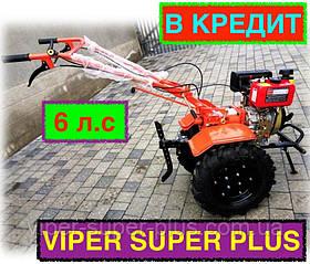 ⭐✅ Мотоблок дизельный ZUBR (Зубр ХА-31) HT-105 (6 л.с.) ручной стартер с воздушным охлажд.