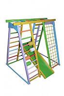 Детский спортивный комплекс Волшебник Цветной ( ДСК ) дитячий спортивний комплекс